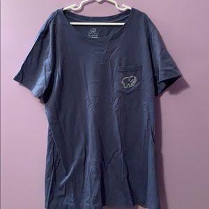 Bluish gray-ish ivory Ella shirt